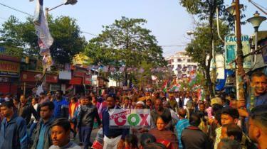 বিতর্কিত নাগরিকত্ব আইন: দিল্লি-কলকাতায় বিক্ষোভ চলছে, ১৪৪ ধারা লঙ্ঘনের চেষ্টা