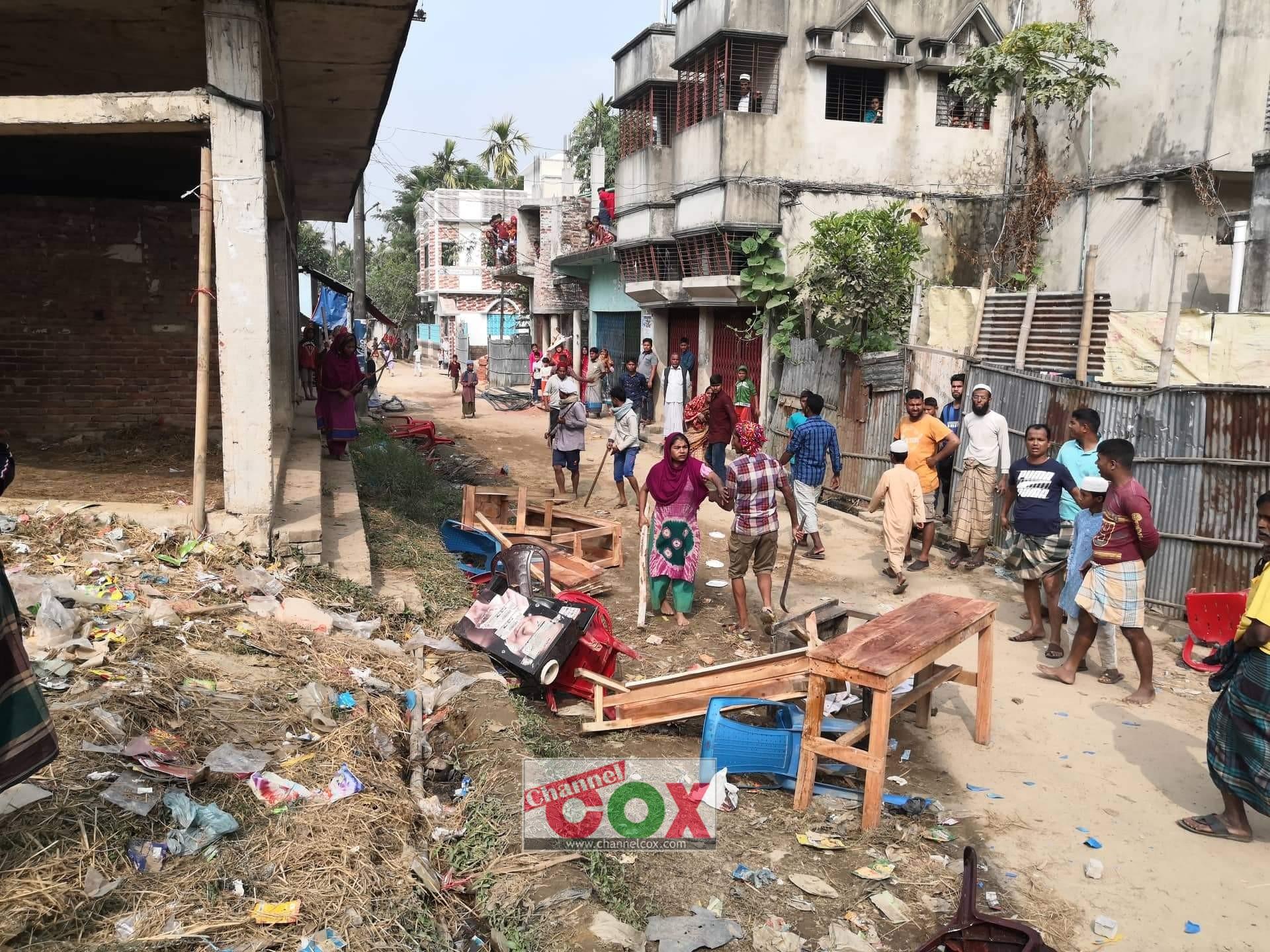 ঝিলংজার দরগায় দিনে দুপুরে সন্ত্রাসী হামলা: দোকান ভাংচুর ও মালামাল লুট