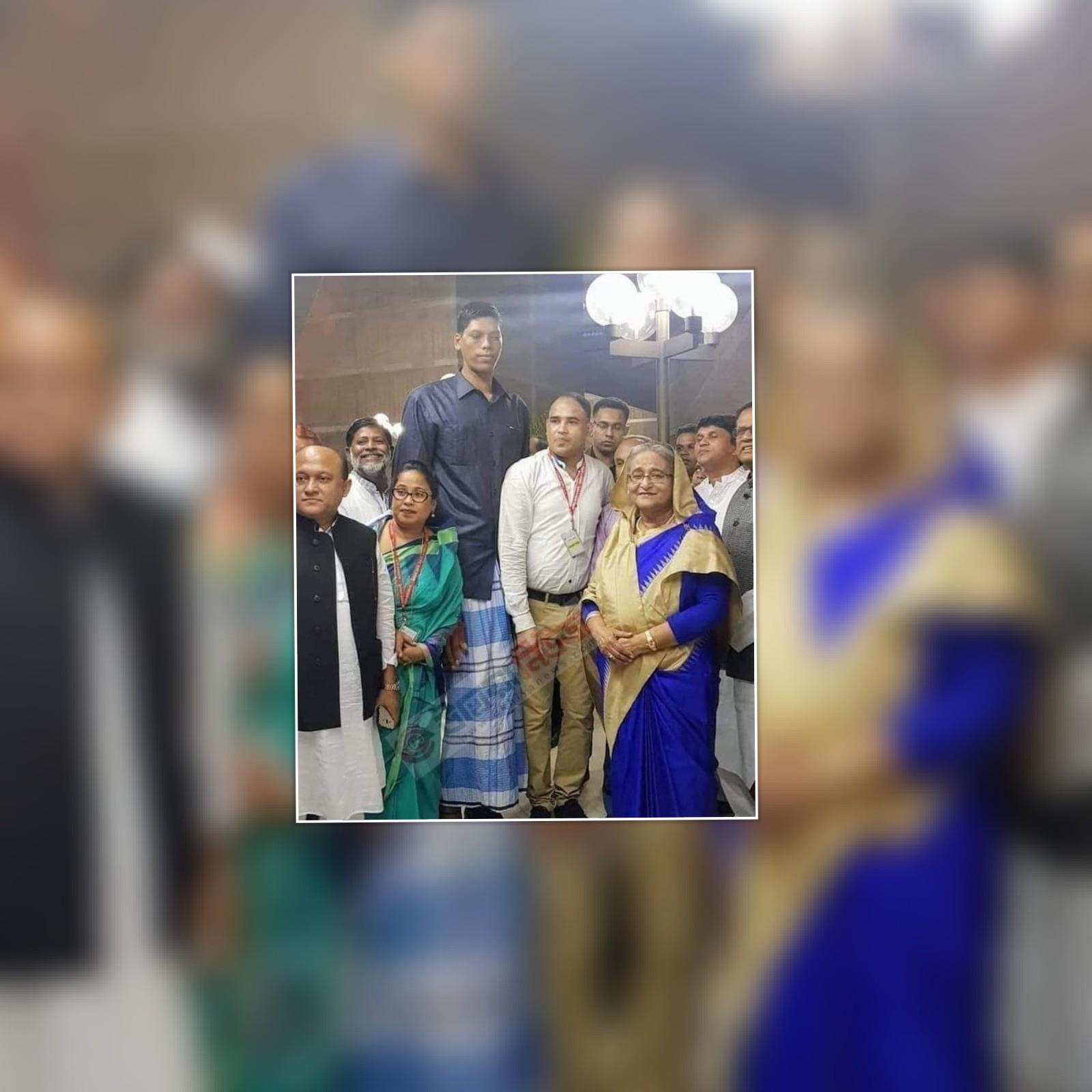 দক্ষিন এশিয়ার দীর্ঘ মানব জিন্নাত আলীর ইন্তেকাল