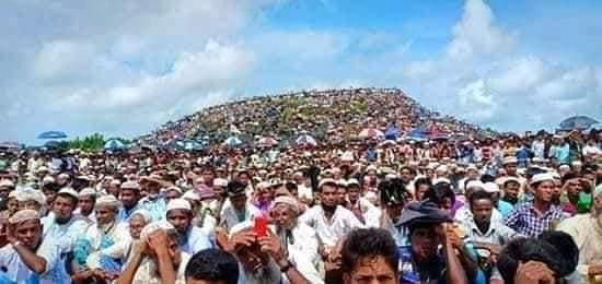 রোহিঙ্গাদের বিশ্বাস তাঁদের করোনা হবে না # সি কক্স নিউজ