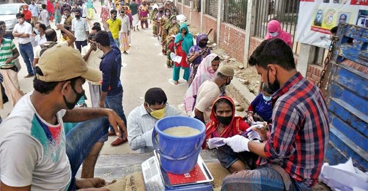 ১০ টাকা কেজিতে চাল দিতে ৬১৮ কোটি টাকা বরাদ্দ   সি কক্স নিউজ