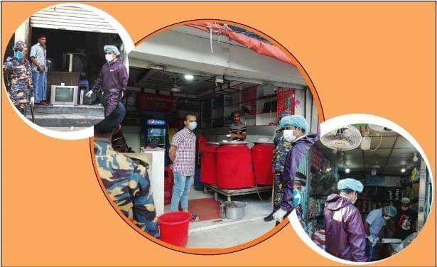 সরকারি নির্দেশনা অমান্য, কক্সবাজারে ৯ জন দোকানদারকে জরিমানা l সি কক্স নিউজ
