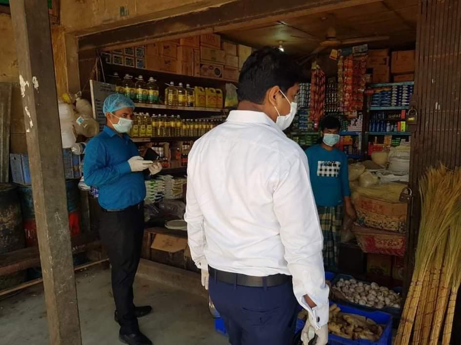 ঈদগাঁও বাজারে ৯ দোকানদারকে ৩৬ হাজার টাকা জরিমানা | সি কক্স নিউজ