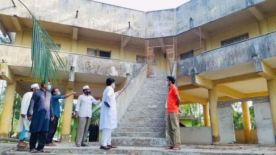 ঘূর্ণিঝড় 'আম্ফান':মহেশখালীতে সাইক্লোন শেল্টার পরির্দশন ইউএনও | সি কক্স নিউজ