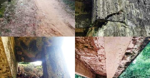 বাইশারী-গর্জনিয়ার একমাত্র সেতুবন্ধন ব্রিজটি নদীর সাথে বিলীনের পথে | ChannelCox.com