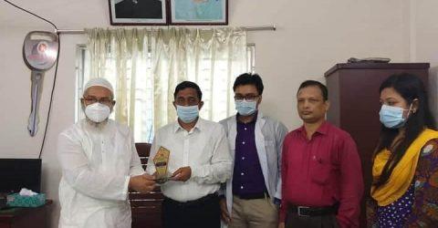 দেশবাংলা ফাউন্ডেশন পেলো,জেলার শ্রেষ্ঠ সংগঠন পুরস্কার | ChannelCox.com