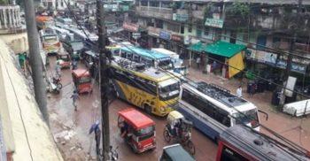 কক্সবাজার-টেকনাফ মহাসড়কে দীর্ঘ যানজটঃ যাত্রীদের ভোগান্তির শেষ নেই  | ChannelCox.com