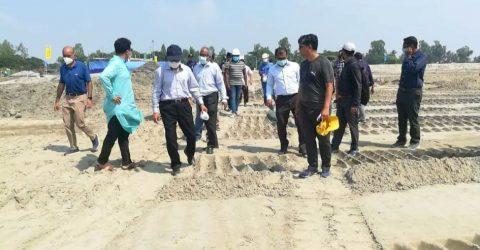 মহেশখালীতে বেজা চেয়ারম্যান অর্থনৈতিক  অঞ্চলের নানা উন্নয়ন কর্মকান্ড পরিদর্শনে | ChannelCox.com