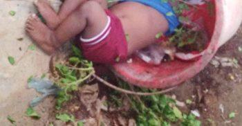 ময়লার বালতিতে মিলল দেড় বছরের শিশুর মরদেহ | ChannelCox.com