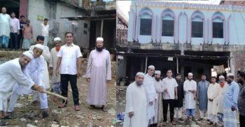 উখিয়া কোটবাজারে মসজিদের অজুখানার কাজের শুভ উদ্বোধন | ChannelCox.com